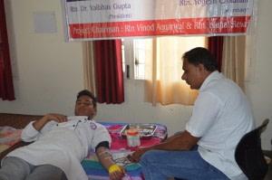 Blood Donation & Dental Check-Up