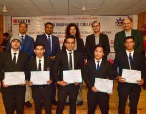LCHM Students during training in Malaysia