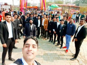 LCHM students visited Surajkund mela 2020